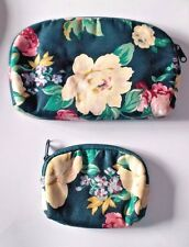 2 Piece--Matching Make up Bag and Coin Purse