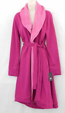 UGG Australia Allinda Peony Pink Fleece Lined Knee Lenght Cozy Robe-NEW-Size L
