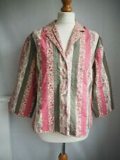 Anokhi For EAST Top 16 Pink Green Jacket
