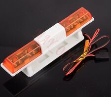 RC Car Police Night Flash Bright LED Light 360 Degree Rotation Demo LED502C