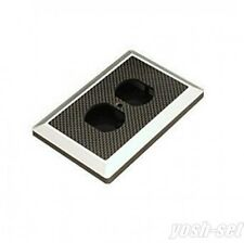 Oyaide WPC-Z Aluminium Mounting Flame & Carbon Panel New From Japan F/S