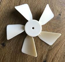 """4"""" inch Diameter Plastic Fan Blade / Propeller 5/32"""" inch Bore CW"""