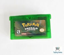 Pokemon Emerald Version GBA Gameboy Advance Reproduction SHIPS FROM USA