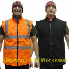 Polyester Business Patternless Big & Tall Waistcoats for Men