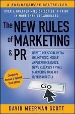 The New Rules of Marketing and PR : How to Use Social Media, Online Video, Mobil