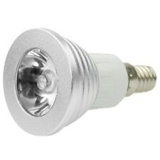 RGB LED Bulb Spot Light Bombilla Lampara 16 Colores 3W E14 + Controlador ManX1M8
