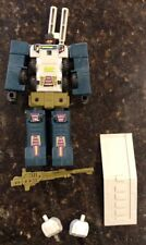 Transformers G1 Combaticons ONSLAUGHT 1986 Vintage Figure Bruticus Loose W/extra
