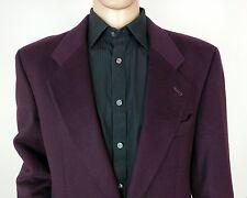 Strellson Cashmere Wool Sports Suit Jacket Purple EU 50 UK 40 R New RRP£239