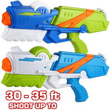 2 Pack Water Guns for Kids and Adults Super Soaker Summer Swimming Pool Toys