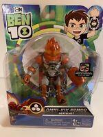 New Ben 10 Omni Kix Armor HeatBlast Playmates Toys
