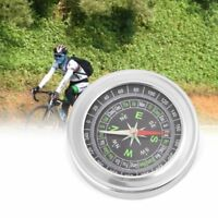 Stainless Steel Compass Outdoor Camping Hiking Portable Pocket Navigation Tool