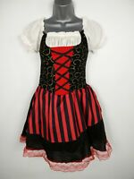 GIRLS WICKED COSTUMES PIRATE LADY HALLOWEEN FANCY DRESS COSTUME OUTFIT AGE 11-13