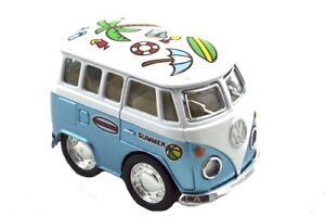 DIECAST VW MINI BUS 5CM kombi van Volkswagen pretend play toy gift kids