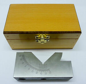 Adjustable Precision 0-60º Angle Block - 30 x 48 x 102mm