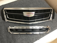 Grill For Cadillac XTS 2013 - 2017 Radiator Front Bumper Upper Lower Grille Vent