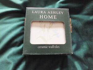 Vintage Laura Ashley Tiles - Cornflower Chambray BNIOP set of 6