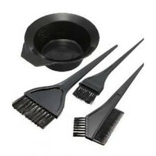 Hair Color Dye Bowl Comb Brushes Tool Kit Set Tint Coloring LW