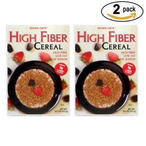 Trader Joe's Cereal High Fiber , 14.5 oz (2 PACK) Each Pack is 14.5oz