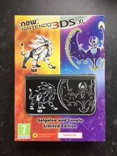 NEW NINTENDO 3DS XL Pokemon Sun & Moon. SOLGALEO AND LUNALA LIMITED EDITION