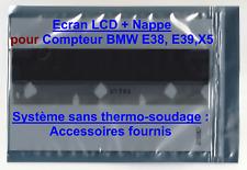 LCD complet pour compteur de BMW E38 E39 X5 (Avec Nappe) + Accessoires Utiles !
