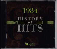 READER'S DIGEST History Of Hits 1984 CD SEALED Tim Finn Alphaville Pat Benatar
