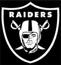 NFL Oakland Raiders Car or Truck Window Vinyl Sticker