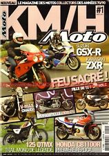 KMH MOTO 1 YAMAHA 350 RDLC XT 500 V-Max 1200 DTMX HONDA CB 1100 KAWASAKI Z1 ZXR