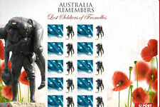 2010 Australia Souvenir Sheet Lost Soldiers of Fromelles Stamp  MNH.