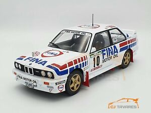 ALTAYA BMW M3 #10 M. DUEZ RALLY DE PORTUGAL 1989 1/18