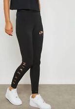 NWT Women's Nike NSW AIR Leggings Tight Fit ~ Sz XL ~ BLACK/ROSE GOLD