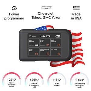 Chevrolet Tahoe GMC Yukon tuning box power programmer performance tuner OBD2