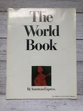 Vintage The World Book 1971 American Express Pan Am Quantas Airlines Travel