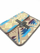 Pendleton ATZEC I Pad Case Cover Brown Blue RARE