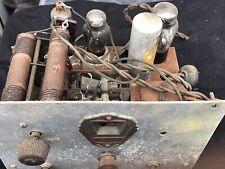 Vintage Tube Power Amplifier Tuner