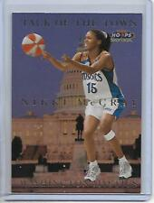 1999 Hoops Nikki McCray Talk Of The Town Insert Card