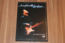 Lou Reed - A Night With Lou Reed (2001) (DVD) (Eagle Vision – EREDV122)