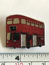 Red Double Decker Bus Pin London, England