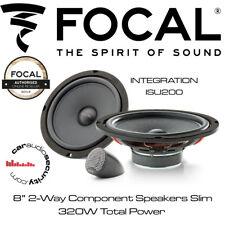 "Focal ISU200 - INTEGRATION 200mm/8"" 2-Way Component Speakers Slim"