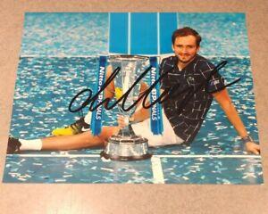 Daniil Medvedev US OPEN Champion TENNIS Signed Autographed 8x10 Photo