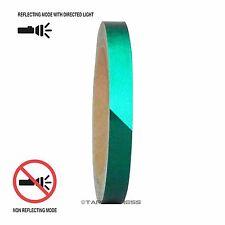 "1 Roll Green 1/2"" x 30 feet Reflective Engineering Grade Tape Pinstripe"