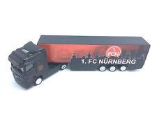 1. FC Nürnberg Truck 1:87 LKW Modellauto Bundesliga Fussball Auto DGD