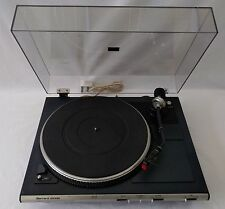 Garrard DD450 Semi Automatic Direct Drive Turntable Goldring Cart Made In U.K