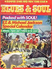 Kid Creole Blues & Soul Issue 371 1982  Michael Jackson   Shalamar  Carl Carlton