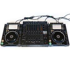 DJ-Set: 2x Pioneer CDJ 2000 NXS2 Nexus 2 + 1x Pioneer DJM V10 + Kabel