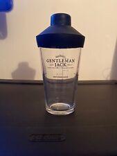 Jack Daniels Gentleman Jack Cocktail Shaker Mixer New