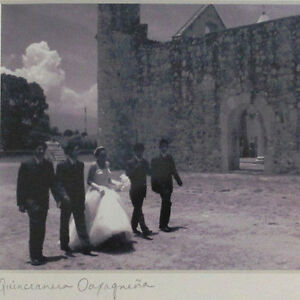 Quinceanera Oaxaquena at Mexican Mission Original Photography Framed Signed 2004