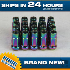 Set of 100 Lugnuts Tuner 12x1.5 for Chevy Corvette Impala S10 Ford Escape Focus