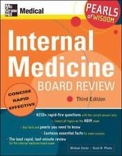 Internal Medicine Board Review: Pearls of Wisdom, Third Edition  VeryGood