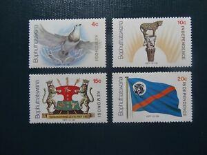 Bophuthatswana  1977  SG 1-4   Set  MNH