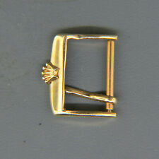 Original Rolex 14K Gold Clasp for Leather Band